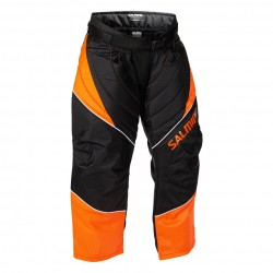 Salming Atlas Goalie Pant JR Orange/Black