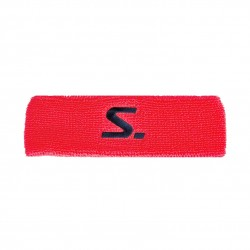 Knitted Headband Coral/Navy