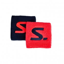Wristband Short 2-pack Coral/Navy