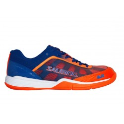 SALMING Falco Men  Limoges Blue/Orange Flame 6,5 UK, 40 2/3 EUR