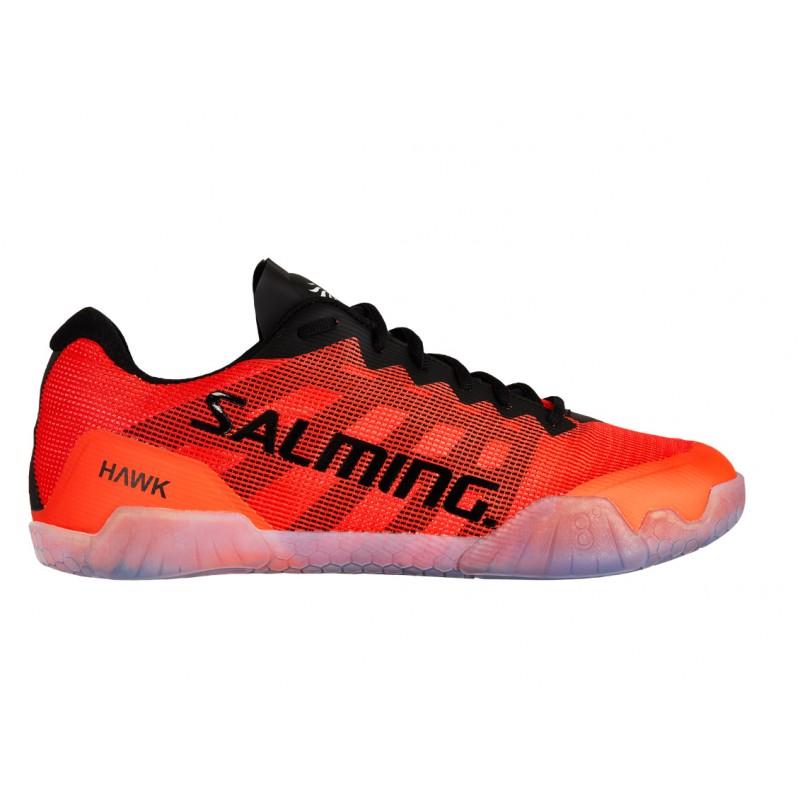SALMING Hawk Men Shoe Black/Lava Red 6,5 UK, 40 2/3 EUR