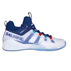 SALMING Kobra Mid 2 White/Limoges blue 6,5 UK, 40 2/3 EUR