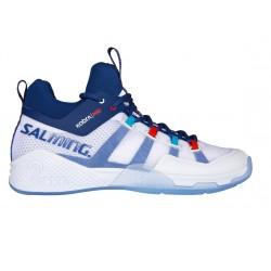 SALMING Kobra Mid 2 White/Limoges blue 6,5 UK, 40 2/3 EUR