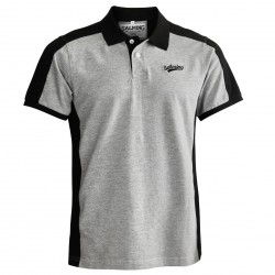 SALMING Aspen Polo Men Grey/Black S