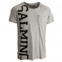 SALMING Edge Tee Grey Melange S