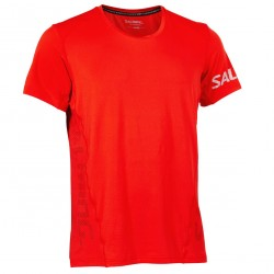 Laser Tee Men Fiery Red
