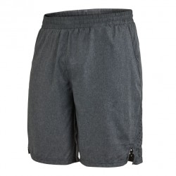 Runner Shorts Men Dark Grey Melange