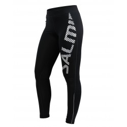 Logo Tights 2.0 Women Black/Silver Reflective