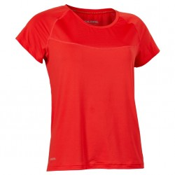 Laser Tee Women Poppy Red Melange
