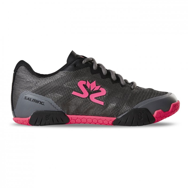 Salming Hawk Shoe Women GunMetal/Pink