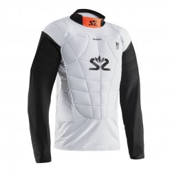 Salming E-Series Protectiv Vest White/Orange