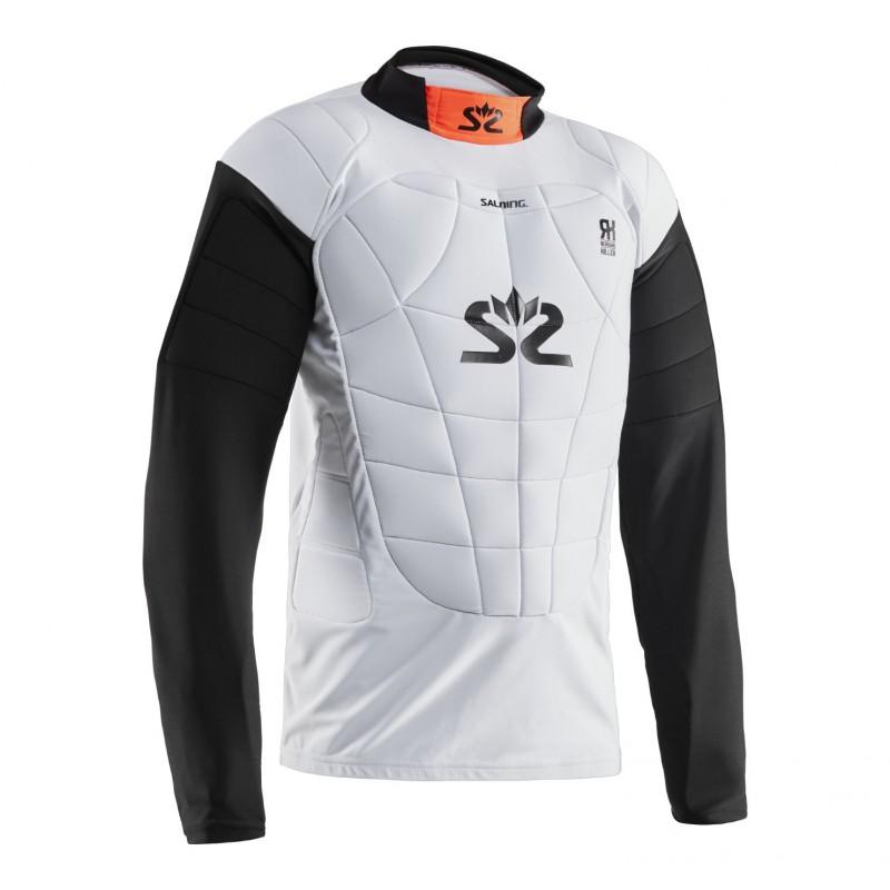 Salming E-Series Protectiv Vest White/Orange