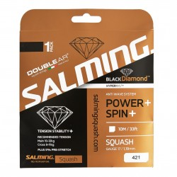 Salming Black Diamond String Black Single