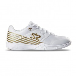 Salming Viper 5 Shoe Women White/Gold