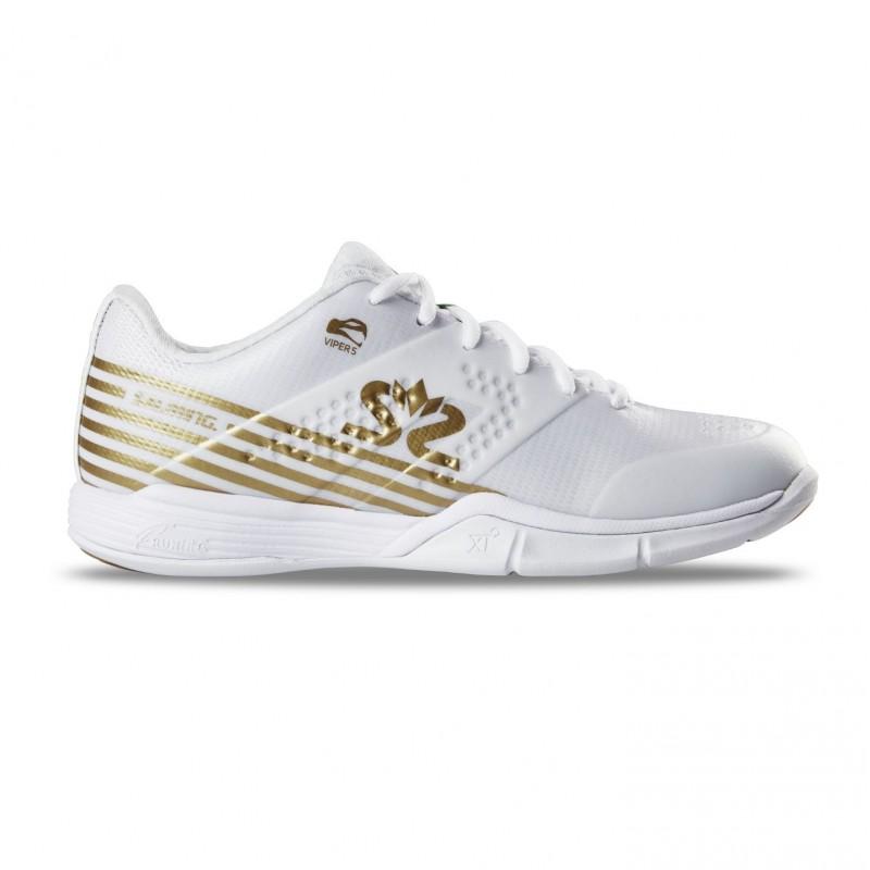 Salming Viper 5 Shoe Women White/Gold