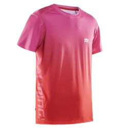 Salming Beam Tee Pink/Red
