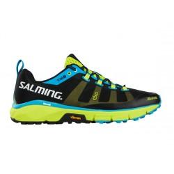SALMING Trail 5 Shoe Men Black/Flou Green 11 UK