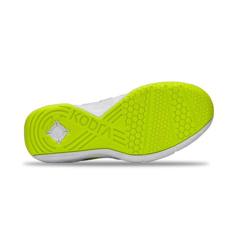 Salming Kobra 3 Shoe Women White/Fluo Green