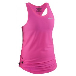 Run Raceback Top Women Knockout Pink