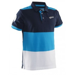 Evergreen Polo Men Navy/Cyan