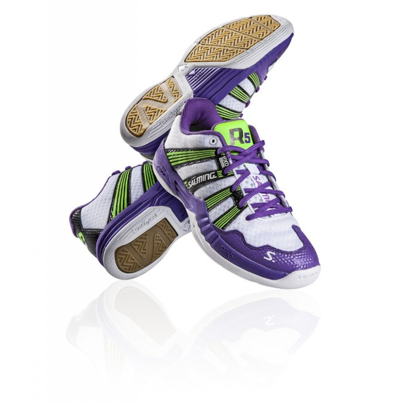 SALMING Race R5 2.0 Purple/White 7,5 UK, 42 EUR