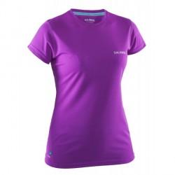 Squash Run Tee Women Purple