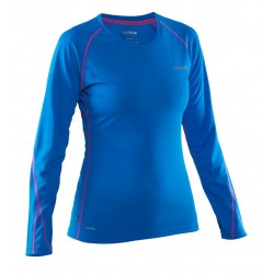 Salming LS Tee Women Electric Blue