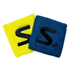 Wristband Short 2-pack Electric Blue/SafteyYellow
