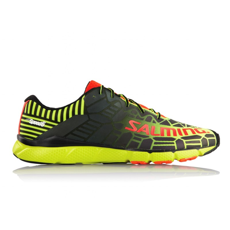 SALMING Speed 6 Shoe Men Fluo Yellow/Black 6,5 UK