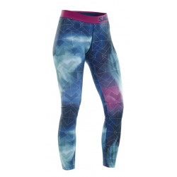 SALMING Flow Tights Wmn Aurora AOP L