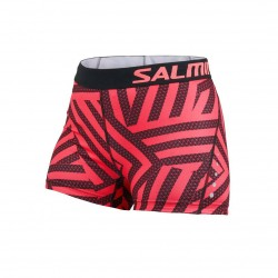 Energy Shorts Wmn Coral/All Over Print