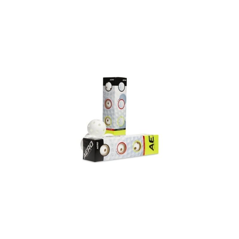 Aero Ball White 4-pack