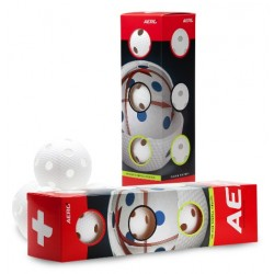 Aero Plus Ball White 4-pack