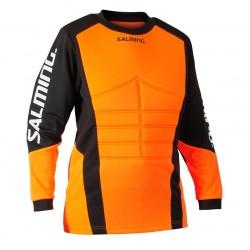 Salming Atlas Goalie Jersey JR Orange/Black
