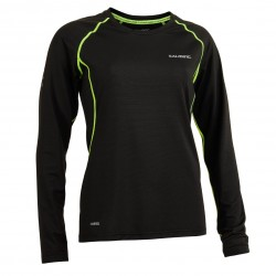 Balance LS Tee Women Black/Sharp Lime