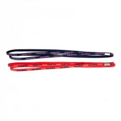 Twin Hairband 2-pack Coral/Blue