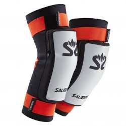 Salming E-Series Kneepads White/Orange