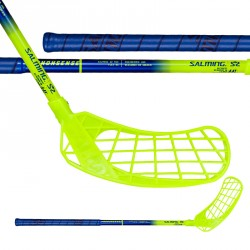 Salming Q2 Mid Blue/Fluo Yellow