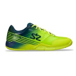 Salming Viper 5 Shoe Men Fluo Green/Navy