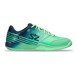 Salming Viper 5 Shoe Women Turquoise/Navy