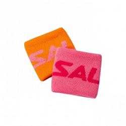 Salming Wristband Short 2-pack Orange/Pink