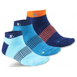 Running Ankle Sock 3-pack Navy Mix