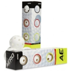 Aero Ball White 4-pack