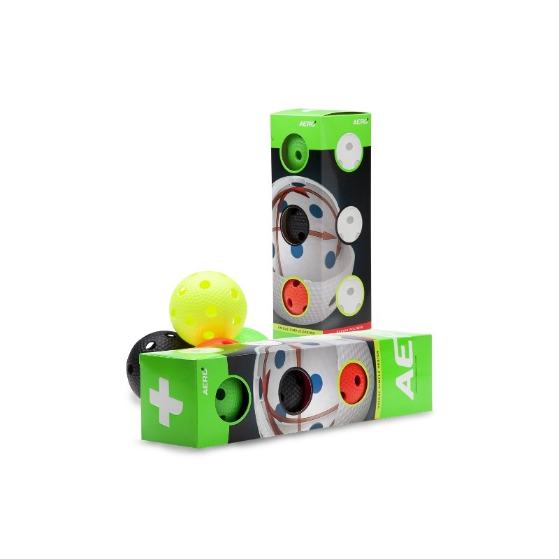 Aero Plus Ball Colour 4-pack